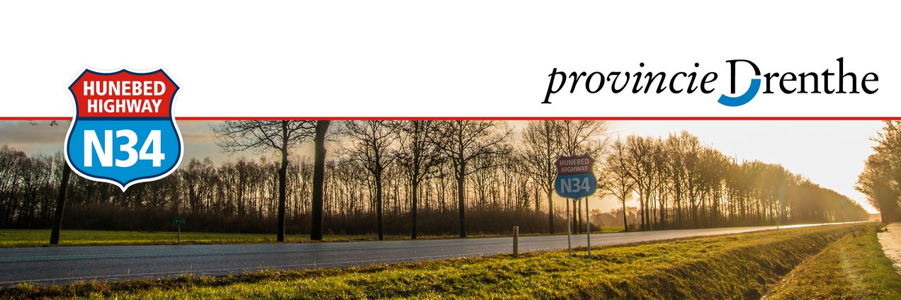header nieuwsbrief provincie Drenthe - N34
